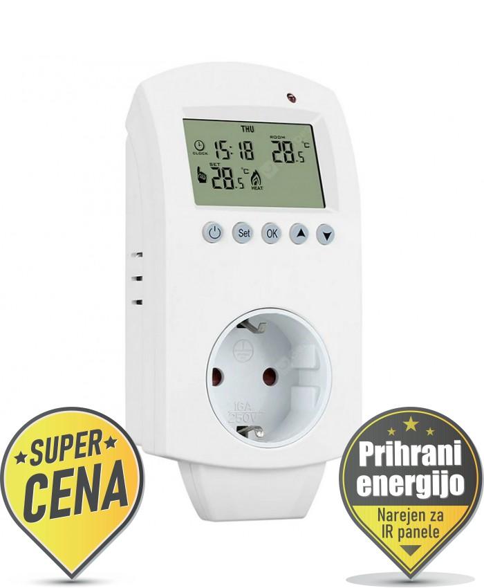 Vtičnični termostat IB4 WiFi