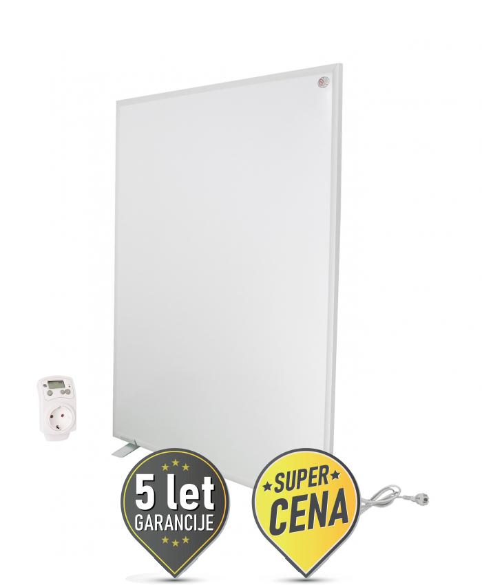 850W IR panel z digitalnim termostatom prenosni