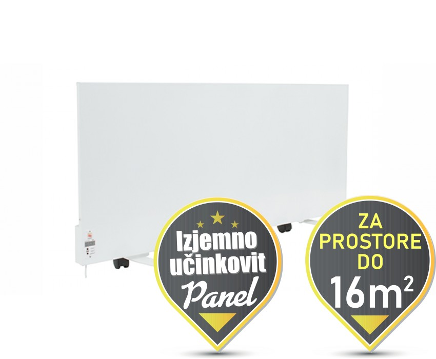 1000W prenosni IR panel z digitalnim termostatom