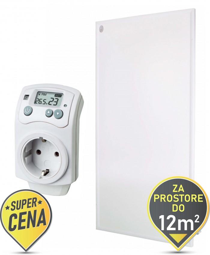 580W IR panel z digitalnim termostatom
