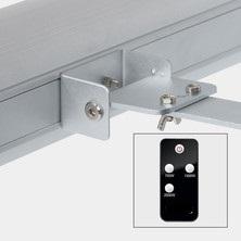 IR grelnik iR20 2000W, enostavna montaža na steno ali strop z daljinskim upravljalnikom